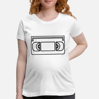 Vhs Tapes VHS Tape - Maternity T-Shirt