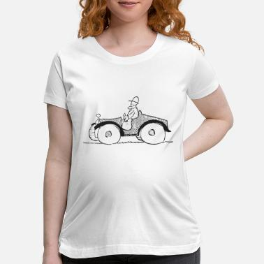 Automobile automobile - Maternity T-Shirt