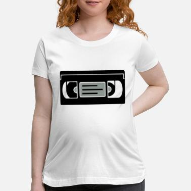 Vhs Tapes VHS - Maternity T-Shirt