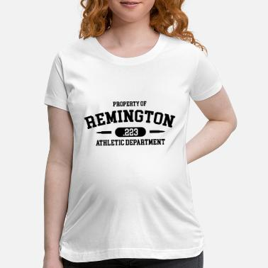 Shooting Club Property of Remington .223 Athletic Department - Maternity T-Shirt