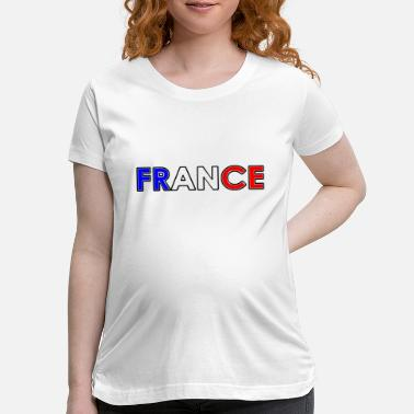 National Colors France - Tricolore - National Colors - Maternity T-Shirt