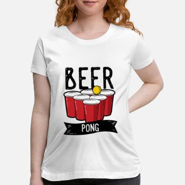 Drink Team Beer Pong Team Drinking Game Friends - Maternity T-Shirt