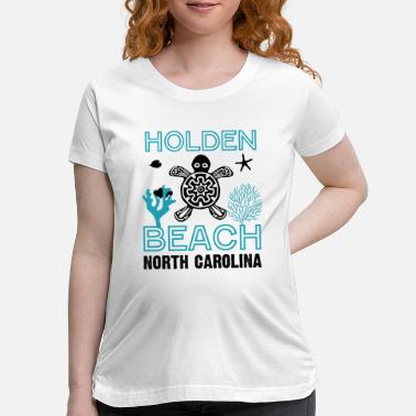 North Sea Sea Turtles Beach North Carolina - Maternity T-Shirt