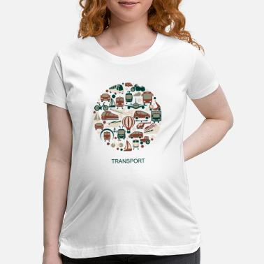 Transport transport - Maternity T-Shirt