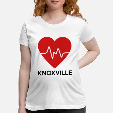 Knoxville Heart Knoxville - Maternity T-Shirt