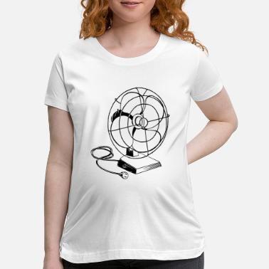 Electric Fan Electric fan - Maternity T-Shirt