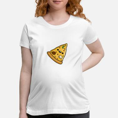 Italy Pizza - Maternity T-Shirt