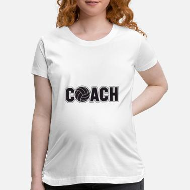 Volley volley coach - Maternity T-Shirt