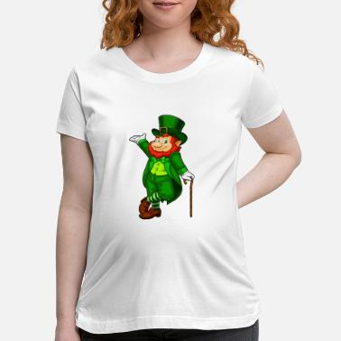 Leprechaun Leprechaun Cute - Maternity T-Shirt