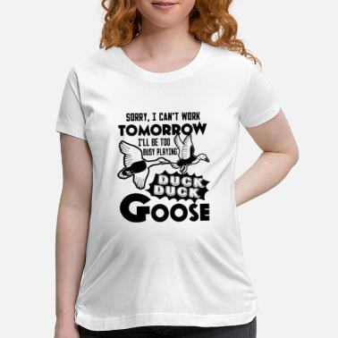 Duck Funny Duck Hunting Shirt - Maternity T-Shirt
