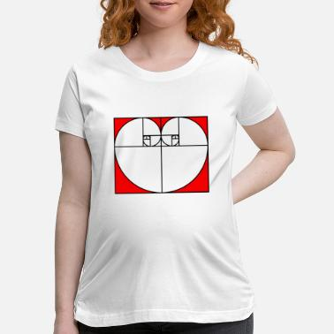 Golden Ratio Golden Ratio Heart - Maternity T-Shirt