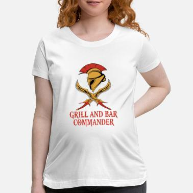 Commander Grill and Bar commander - Maternity T-Shirt