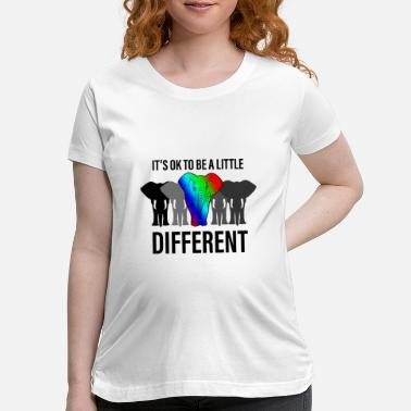 Different Its ok to be different - Maternity T-Shirt