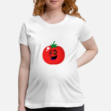 Off Cute Tomato Shirt Gift For Tomato Lover Funny Tee - Maternity T-Shirt