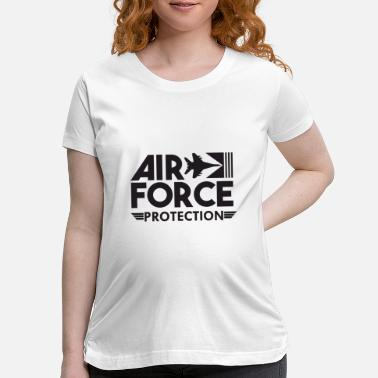 Numbered Air Force Air Force Protection - Air Force - Maternity T-Shirt