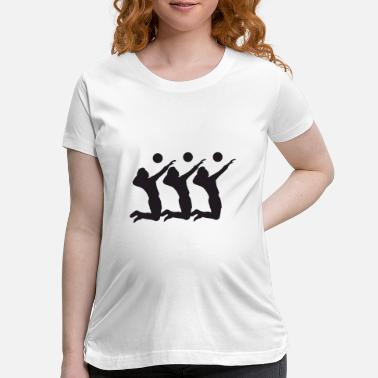 Volley volley guy - Maternity T-Shirt