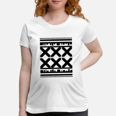 Pattern Dark Pattern - Maternity T-Shirt