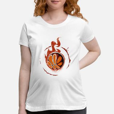 Lakers Funny Basketball design - Maternity T-Shirt