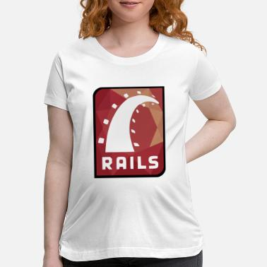 Rails Ruby On Rails Logo - Maternity T-Shirt