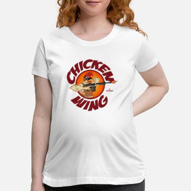 Tactical Chicken Wing Operator - Maternity T-Shirt