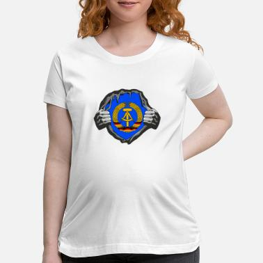 East Germany GDR / DDR Breast / Gift East Germany East Berlin - Maternity T-Shirt