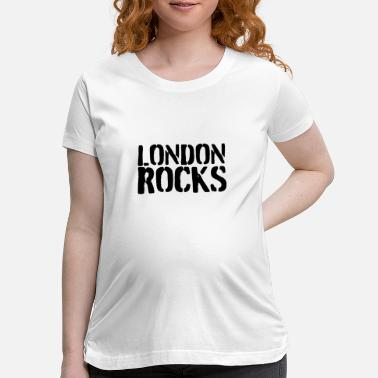 England London rocks - Maternity T-Shirt