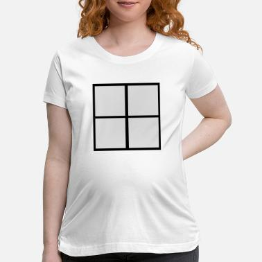 Windows Window - Maternity T-Shirt