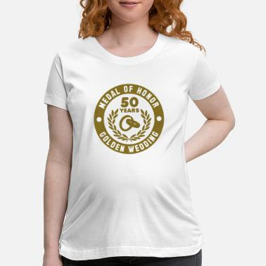 Medal Of Honor MEDAL OF HONOR 50th GOLDEN WEDDING - Maternity T-Shirt