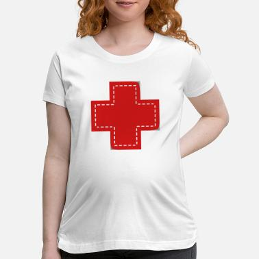 Patch cross patch - Maternity T-Shirt
