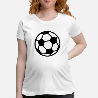 Soccer Ball soccer ball - Maternity T-Shirt