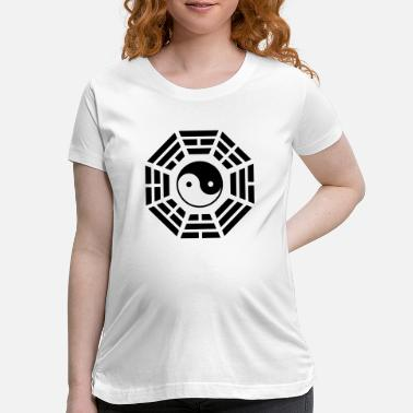 Buddhism pakua - Maternity T-Shirt