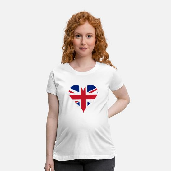 Love T-Shirts - united kingdom - Maternity T-Shirt white