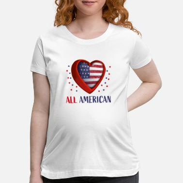 State All American - Maternity T-Shirt