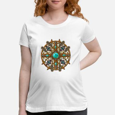 Tribal Tribal Mandala 08 - Maternity T-Shirt