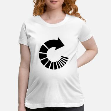 Recycle recycle - Maternity T-Shirt
