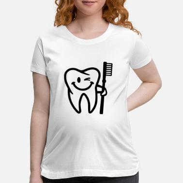 Tooth Tooth - Maternity T-Shirt