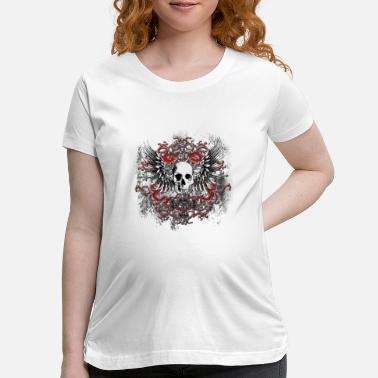 Tribal skullcrest - Maternity T-Shirt