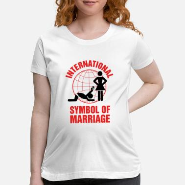 Marriage Marriage - Marriage Symbol - Maternity T-Shirt