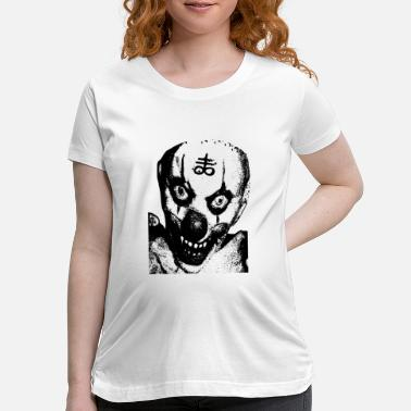 Horror Demon Clown - Maternity T-Shirt