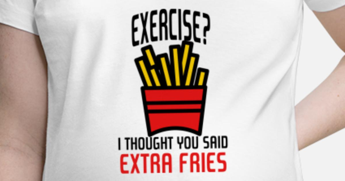 Sorry I Thought You Said Pizza T-Shirt Funny Top Junk Food Lover Gym Workout