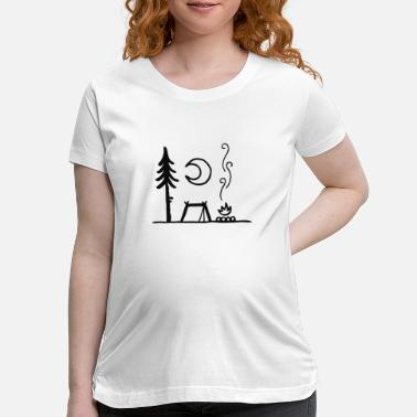 Atmosphere The atmosphere of the camper - Maternity T-Shirt