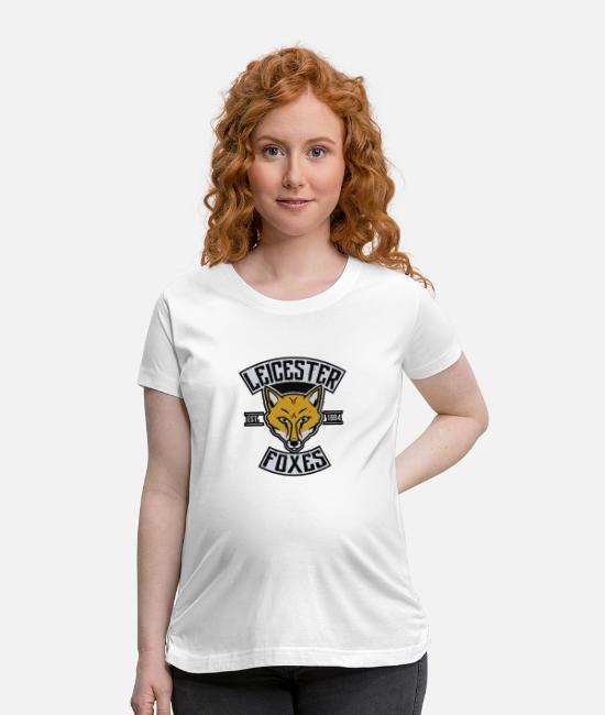 Movie T-Shirts - Leicester Foxes - Maternity T-Shirt white