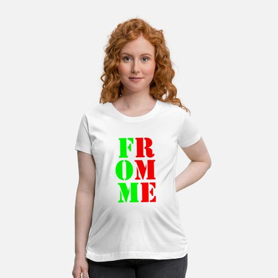 Rather T-Shirts - from me - Maternity T-Shirt white