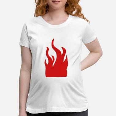 Fire Fire - Maternity T-Shirt