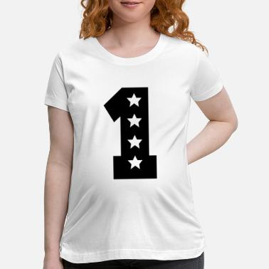 Number numbers - Maternity T-Shirt