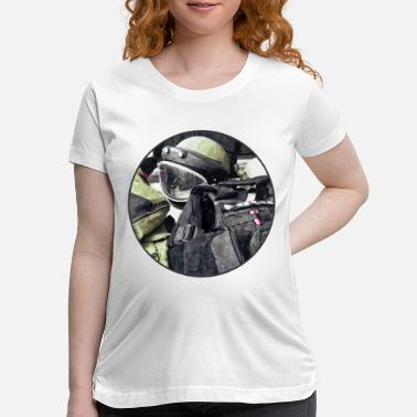 Bomb Bomb Squad Uniform - Maternity T-Shirt