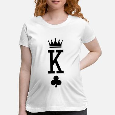 Rey King of Cards - Maternity T-Shirt