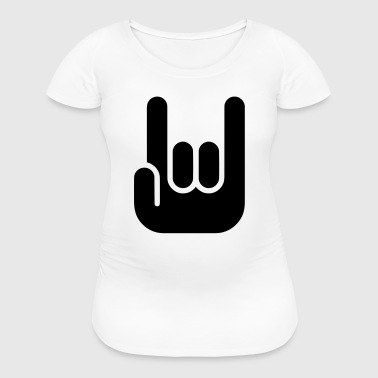 HARD ROCK - ROCK ON FINGERS - Women's Maternity T-Shirt