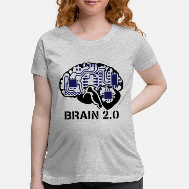 Web brain 2.0 - Maternity T-Shirt