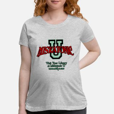 Webcomic Miskatonic U Logo - Maternity T-Shirt